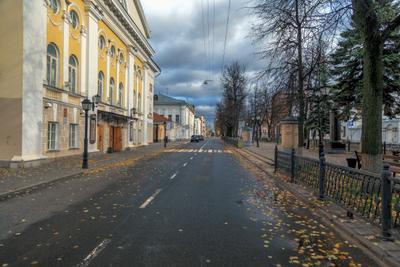 Новый театральный сезон Кострома осень сентябрь улица