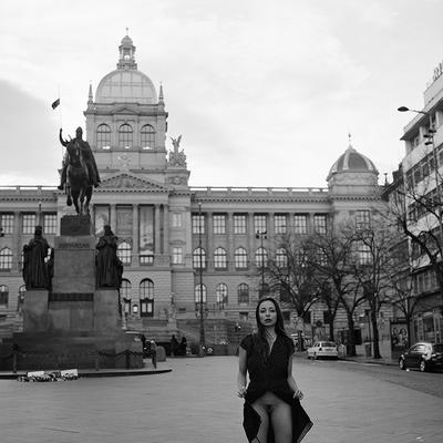 Nude in Prague - Simona