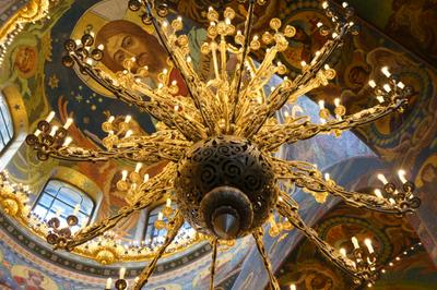 кружево в храме Питер храм Спас на Крови