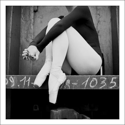 расстояние ч/б, 6х6, пленка, балет