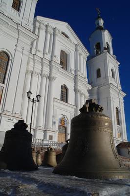 Перезагрузка. Колокола Свято-Успенский кафедральный собор Витебск