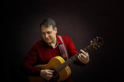 AGIII disfoto jazz guitar gitarre red light canon leica musik konzert conzert