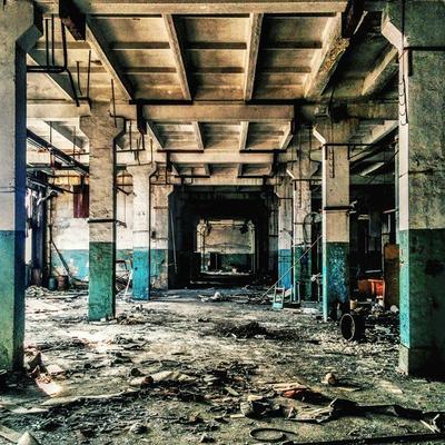 *** завод заброшенное здание