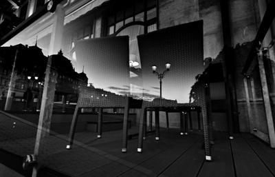 Однажды вечером в Мариенбаде мариенбад вечер ч б путешествия чехия город ночь небо