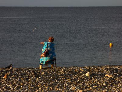 Бросок Адлер море