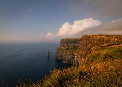 ...в преддверии грозы III... ireland cliffs of moher atlantic ocean sea coast irish landscape nature outdoors thunderstorm cloudscape clouds from above scenic picturesque rocks wonderful breathtaking spectacular europe