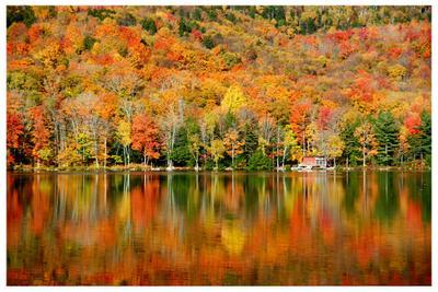 Наша Осень-3 осень, горы, озеро