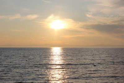 Вечерний Байкал Байкал закат вечер озеро