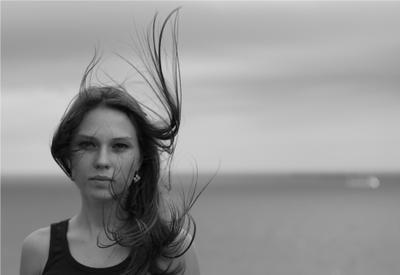 Ветреный портрет...