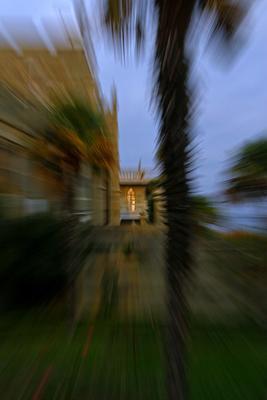 Свет в окне Крым дворец Воронцов пальма