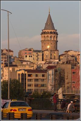 Стамбул. Галатская башня.