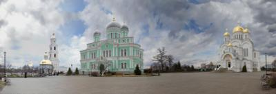 *** Собор Храм Церковь Монастырь Дивеево Серафим Саров