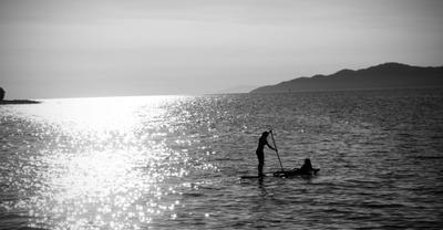 *** океан горизонт