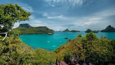 Peace of green Тайланд Ан-Тонг Thai Thailand Green and Blue океан ocean острова остров island
