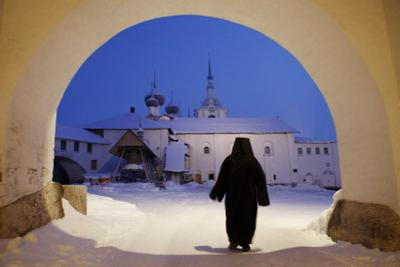 Соловки Соловки монастырь зима