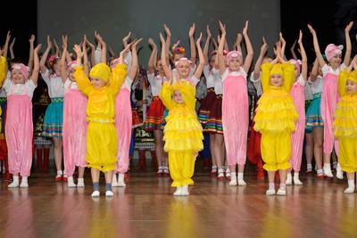 Международный день защиты детей. дети хореография юбилей