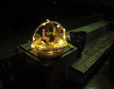 Новый год в Ялте - почти Пасха Ялта Крым набережная ночь Новый год