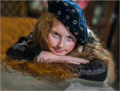 ***Девочка в 9 лет! Портрет