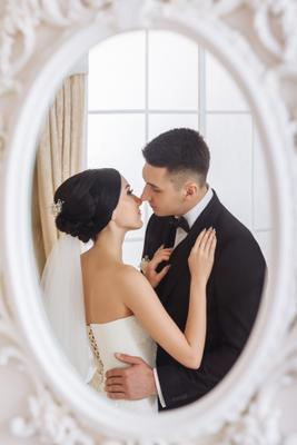 Наедине wedding пара свадьба невеста студия жених