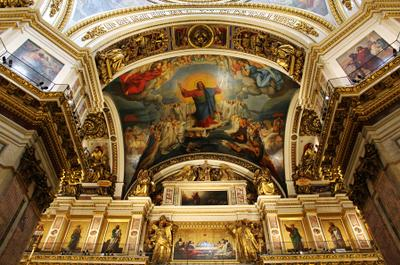 Чудеса Россия Санкт-Петербург архитектура Исаакиевский собор чудеса
