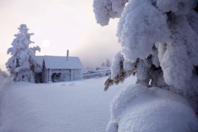 Безмолвие снег мороз зима