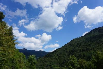 Горы и небо Греция