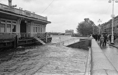 1967. Наводнение в Ленинграде