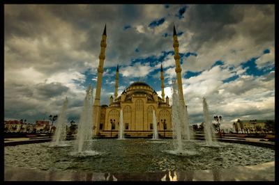 Сердце Чечни Грозный, мечеть, Чечня