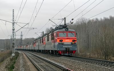 ВЛ80С-822 ВЛ80С-822 ВЛ80С-787 сев сжд жд транссиб галич красильниково перегон транспорт поезд