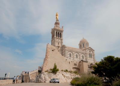 Notre-Dame de la Garde марсель франция архитектура нотрдам
