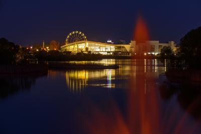 Ночной город... Лето город ночь Свияга