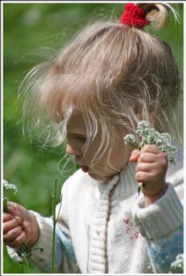 Возможно первый букетик для МАМЫ дети,букетик,природа,цветы