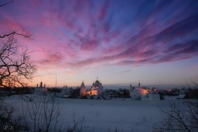 Рождество в Суздале. Суздаль Рождество Покровский монастырь