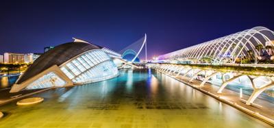 Город Науки и Искусств Валенсия Испания Город Науки и Искусств