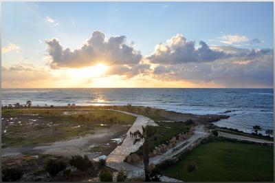 *** закат Кипр