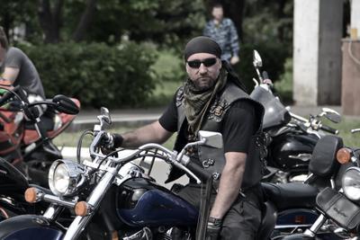 Байкер Ночные волки мото байкеры мотоциклисты