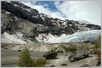 Норвегия. Ледник.