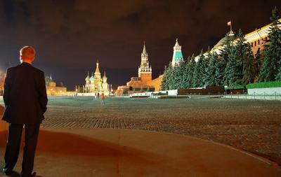 Путин Москва Кремль Красная площадь