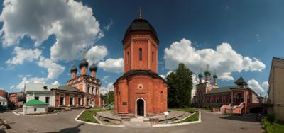 Высоко-Петровский Москва Высоко-Петровский монастырь Петровка