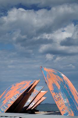 Скоро лето Одесса Лето лодки море