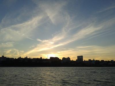 *** природа предзакатное небо город Воронеж