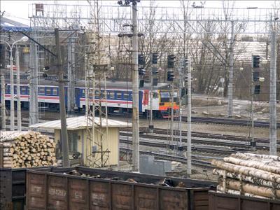 Первая ЭТ2Л в Обухово Обухово железная_дорога электричка ЭТ2Л-027