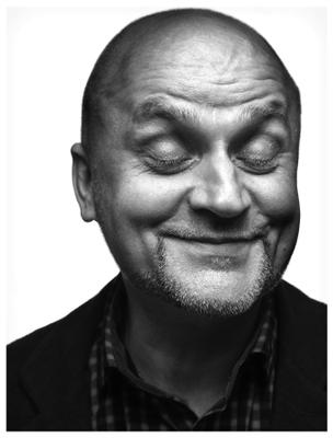 Портрет Николая Black-white portrait man