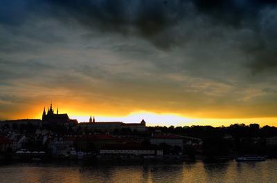 Закат в Праге чехия прага закат лейка czech prague sunset leica leicax2