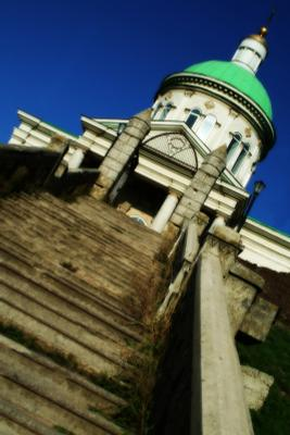Сурб Хач храм, дорога, ступени