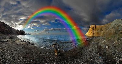 *** Крым море горы Киммерия фантазия радуга