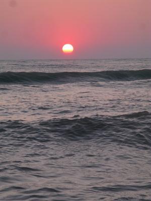 Закат закат море волны солнце вечер