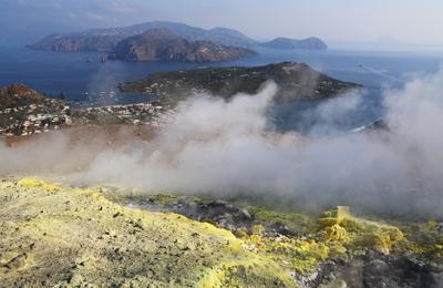 Вулканические острова Вулкан