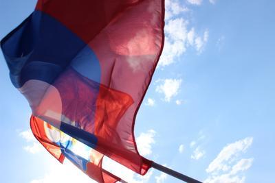1 мая фотография репортаж флаг флешмоб 1мая