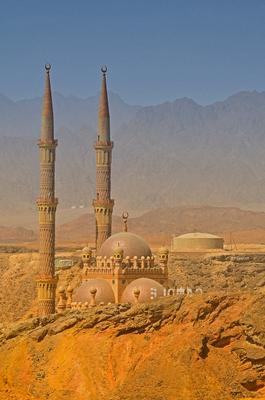 Мечеть Аль-Сахаба, Шарм-Эль-Шейх, Египет.